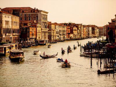 Italy - Venice engagement session - Petra & David