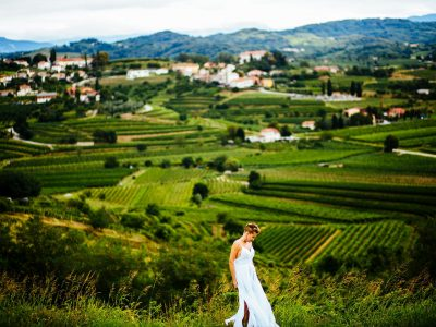 Slovenija - Goriška brda - poroka domačija Klinec - Monika & Alex